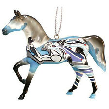 Trail of Painted Ponies DREAM WARRIORS ORNAMENT Retired, New In Box