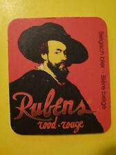 Beer Bar Coaster: RUBENS ROUGE Brewed by Alken-Maes (Heineken) ~ Jumet, BELGIUM