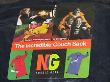 navy regular size lounge sleep couch sack nordic gear MADE IN USA fleece heavy