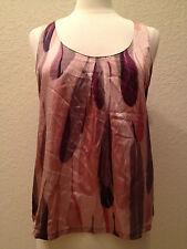 NEW Alfani Women's Chemise Tank Top 221201F237 Painted Feather       - Choose Sz