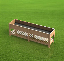 8ft Raised Planter Box 001 - Paper Building Plans - Easy to Build - Plans Only