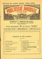 the philatelic journal of great britain . jan - march 1951