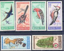 Miu.2231-36 UNGHERIA ** MNH uccelli (4195