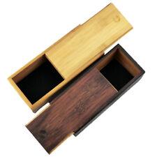 Vintage Bamboo Wood Sunglasses Box Glasses Storage Case Holder Protector