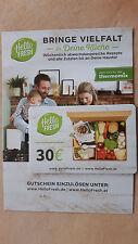 30.- Euro Gutschein - Hello Fresh.de / at