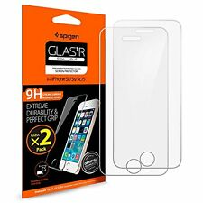 Spigen iPhone SE / 5S / 5 / 5C Screen Protector Tempered Glass 2 Pack for iPh...