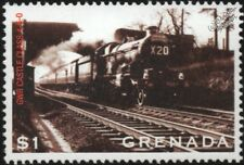 Great Western Railway (GWR) Class 4073 No.7029 Clun Castle 4-6-0 Train Stamp