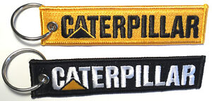 Caterpillar Embroidered Key Chain, loaders, excavators construction