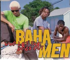Baha Men Who Let The Dogs Out UK CD Single