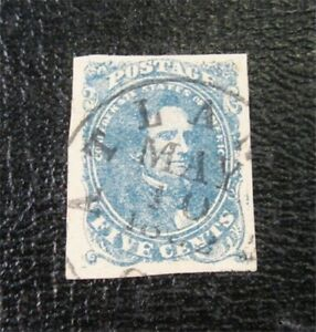 nystamps US CSA Confederate Stamp # 4 Used $125   M5x1036