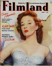 FILMLAND • June 1952 • Susan Hayward • Film Magazine