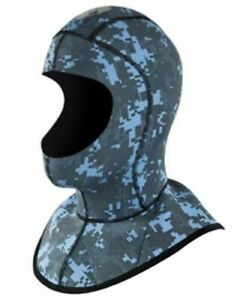 Body Glove Free Dive Scuba Camo Plush Cold Water Hood 3MM Size XS New Child?