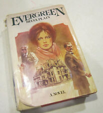 """Evergreen"" by Belva Plain -1978 novel - Hardcover VGC"