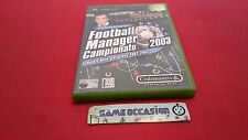 FOOTBALL MANAGER CAMPIONATO 2003   / XBOX MICROSOFT PAL ITALIEN COMPLET