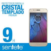 Sentete® Moto G5S Protector de Pantalla de Cristal Templado PREMIUM