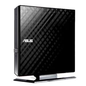 Asus external slim CD, DVD-RW Burner, Player, writer, reader in Black