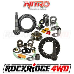 NITRO GEAR PACK for 91-97 Toyota LandCruiser 70/80 Series W/O E-Locker | 4.10 Ra