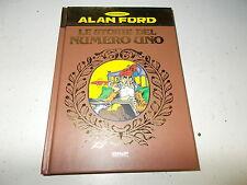 ALAN FORD.LE STORIE DEL NUMERO UNO N.1..MAX BUNKER.2003 COP.RIGIDA COME NUOVO!!