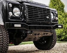 Land Rover Defender Stainless Steel Renegade LED Front Bumper - Uproar 4x4