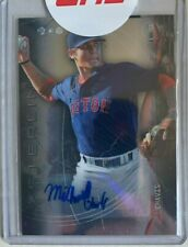 MICHAEL CHAVIS Auto 2014 Topps Bowman Sterling BOSTON RED SOX