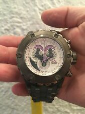 Invicta Reserve Specialty Subaqua Grey S.S. Silver Tone Dial Watch #18542 NIB