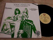 Van Halen-The Women And Children  First Lp Mexico Promo Record Radio Unique WB