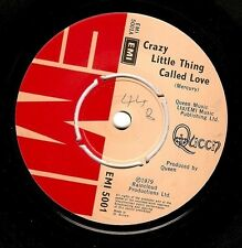 QUEEN Crazy Little Thing Called Love Vinyl Record 7 Inch EMI 5001 1979