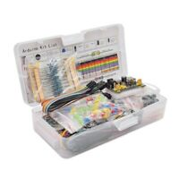 Electronics Component Basic Starter Kit with 830 Tie-Points Breadboard Cab I3O1