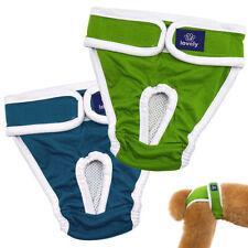 Washable Female Dog Diapers Reusable Pet Menstrual Sanitary Pants Small Large