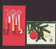 Finland 2018 MNH - Christmas - set of 2 stamps