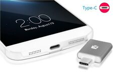Meenova Dash Micro Type-C MicroSD Card OTG Reader with Case Samsung Silver
