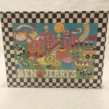 Ben & Jerry's 1987 Great American Puzzle Factory Vintage 100% Complete W Box