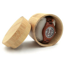 Natural Bamboo Box for Watch/Watch And Jewellery Boxes with Pillow FREE SHIPPING
