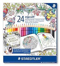 Staedtler 157 C24jb Ergosoft Colouring Pencils With Johanna Basford