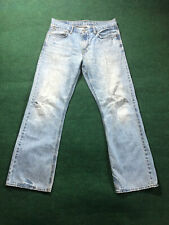 AMERICAN EAGLE OUTFITTERS AEO RIPPED  BOOT CUT MENS JEANS 34X34
