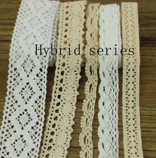 20 Yards Garment Sewing Ornaments Fabric Diy Cotton Crochet Lace Ribbon Ornament