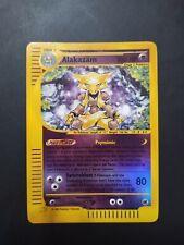 Alakazam Reverse Holo Pokemon Card 1/165 Expedition ENG