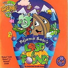 PAJAMA SAM'S Lost & Found   This arcade will provide hours of Fun  New in Box