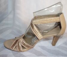 Womens NEW Laura Ashley Lutrell High Heels Sandal strappy pumps shoes size 11