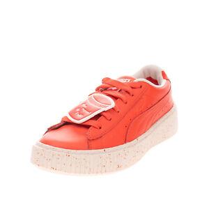 PUMA x TINY COTTONS PUMA x TC PLATFORM Kids Leather Sneakers Size 34.5 UK 2 US 3