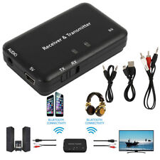 2in1 Bluetooth4.2 Wireless Audio Transmitter Receiver 3.5mm Music Adapter TV 15m