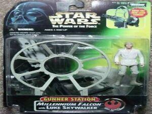 Star Wars Gunner Station Millennium Falcon w/Han Solo POF NIB