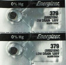 ENERGIZER 379 SR521SW (2 piece) 379 BATTERY NEW SEALED Authorize Seller