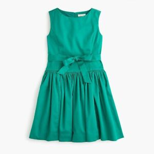 Nwt Crewcuts at J CREW dress tie-waist  12