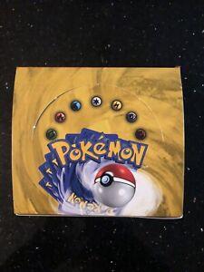 Pokemon Base Set Unlimited Booster Box English Empty Good Condition