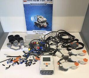 LEGO Mindstorms NXT 2.0 8547 incomplete robot intelligent brick sensors