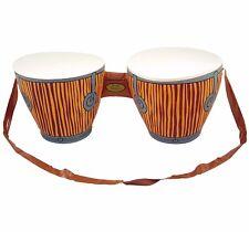 Inflatable Bongo Drums African Fancy Dress Hawaiian Beach Party Prop Decoration