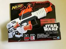 NEW ~ NERF ~ STAR WARS ~ THE FORCE AWAKENS ~ FIRST ORDER STORMTROOPER BLASTER