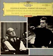 Tchaïkovski-piano concerto Nº 1, juges, Karajan-red stéréo Ed 1