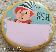 Disney Button Disneyland SSH (Santa's Secret Helper) Button